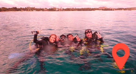 Buceo en Pamilacan Filipinas